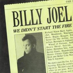 Billy Joel - We DIdn't Star The Fire
