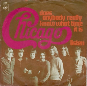 Chicago - Does Anybody Really Know What Time It Is