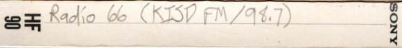 Radio66tapedeck