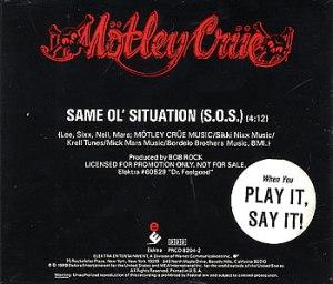 Motley Crue - S.O.S.