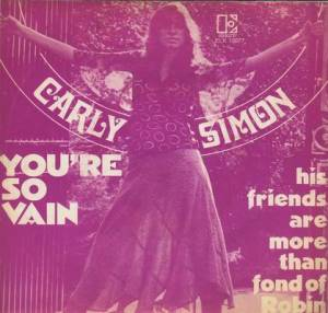Carly Simon - You're So Vain