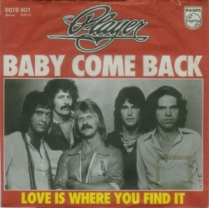 Player - Baby Come Back